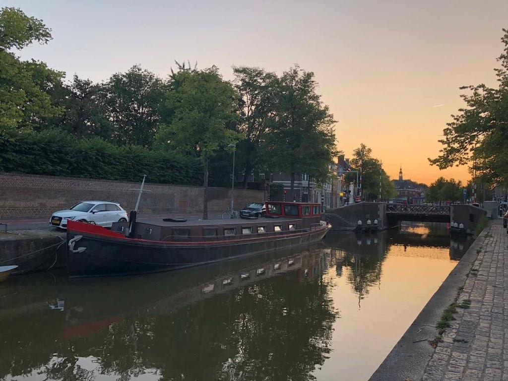 Groningen kanaali Alankomaat