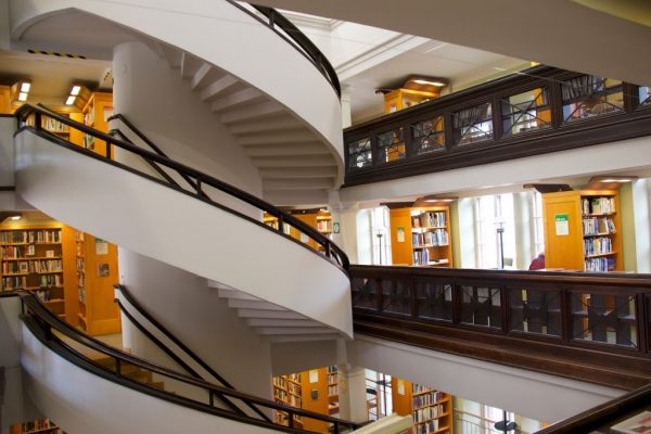 Helsinki Rikhardinkadun kirjasto