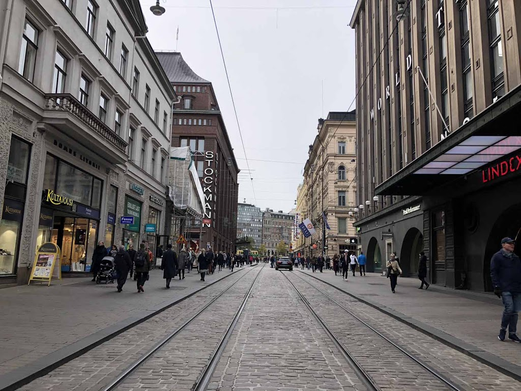 Helsinki Aleksanterinkatu Aleksi
