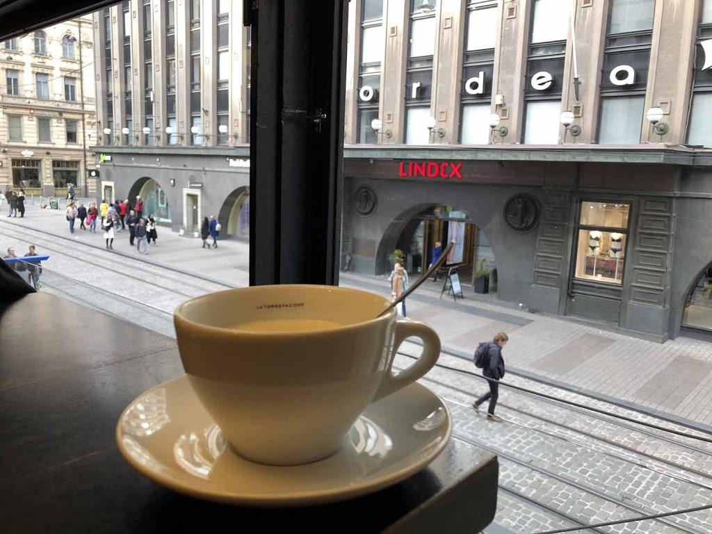 Helsinki Aleksanterinkatu La Torrefazione kahvi