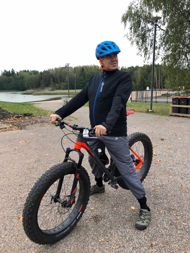 Fatbike Oittaa Suomen Latu maastopyörä maastopyörälenkki