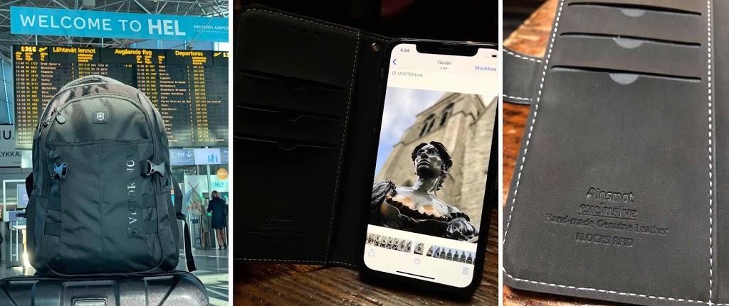 Mastermark Victorinox Elisa iPhone Xs Insmat Kim Vatanen Kimifinn