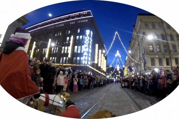 joulukadun avajaiset Helsinki Aleksanterinkatu