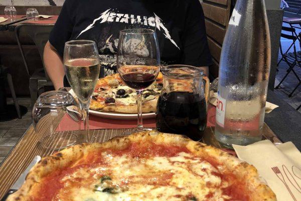 Nizza ravintolat pizza