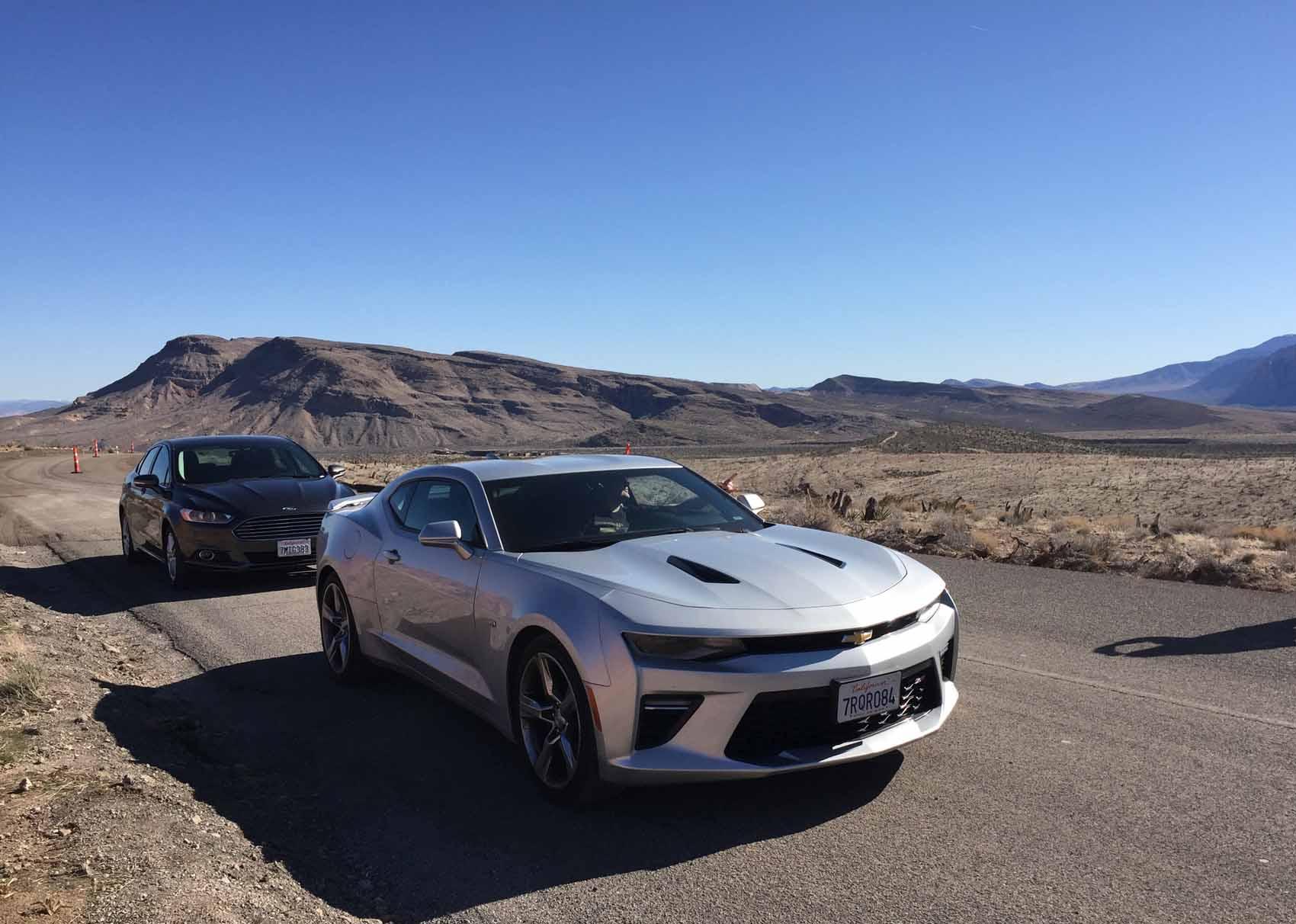 Camaro USA road trip