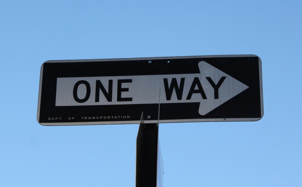 One way Manhattan New York