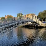 Irlanti Ireland Liffey Ha'penny Bridge