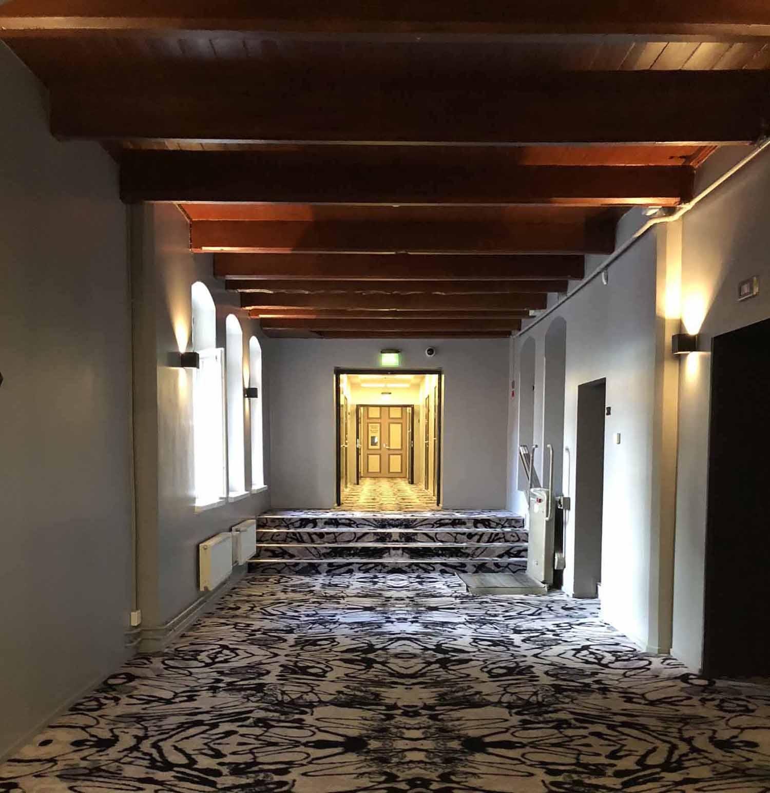 Katajanokan vankila hotelli sellikäytävä