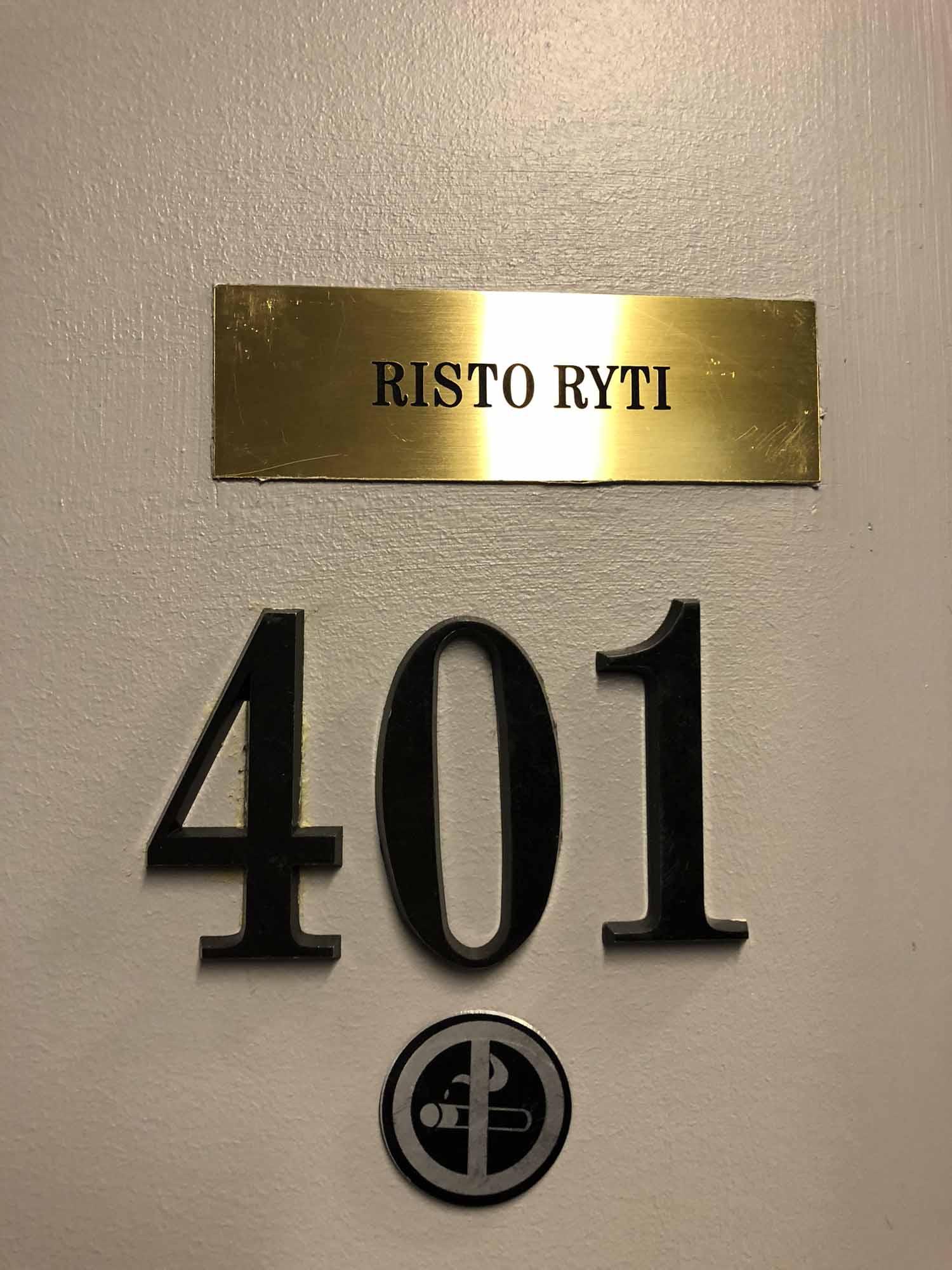 Risto Ryti 401 Katajanokan vankila