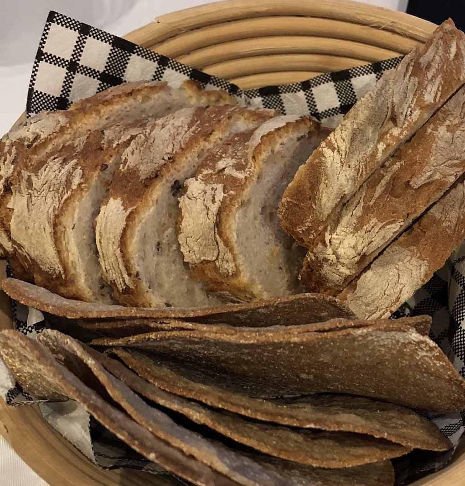 Alkuun vettä ja leipää