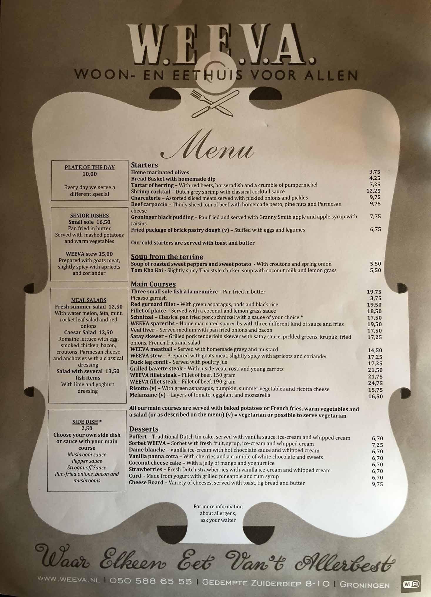 Ravintola Weeva Groningen