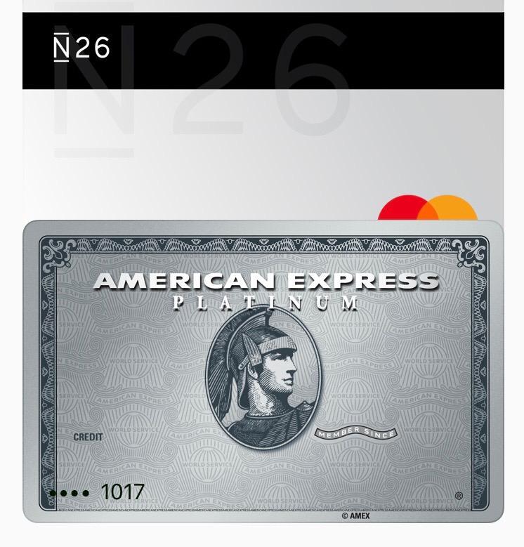N26 Platinum Amex