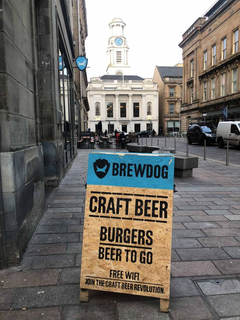 Brewdog Bar Glasgow