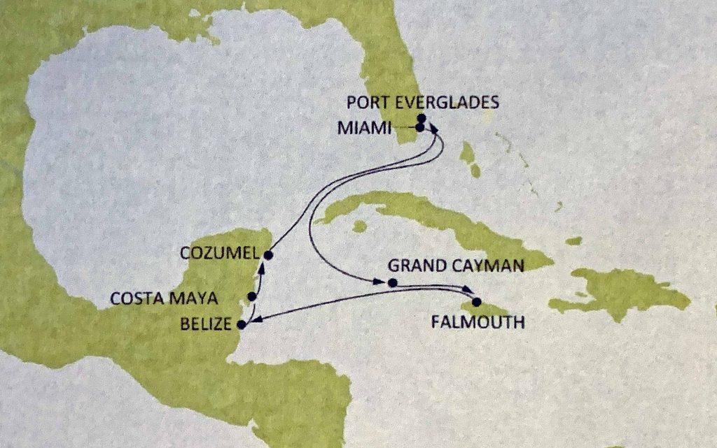 kartta Karibia
