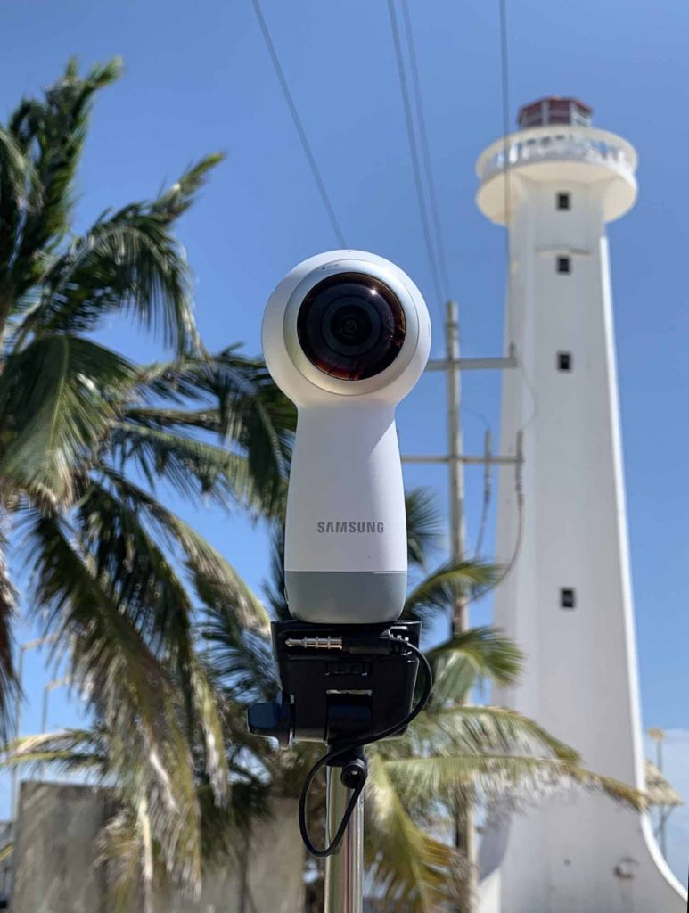 Majakka 360-kamera Samsung