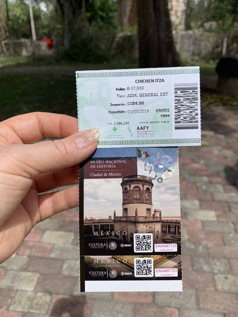 pääsyliput Chichén Itzá