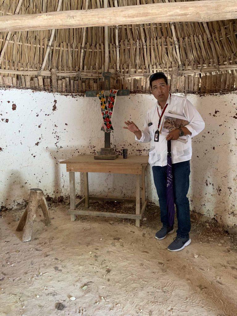 Chichén Itzá maja sisältä