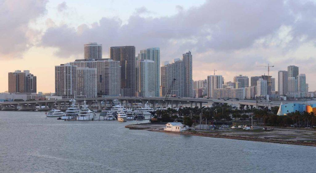 Miami Beach auringonnousu
