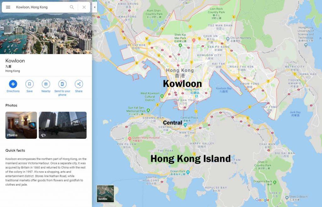 Liikkuminen Hongkongissa 1