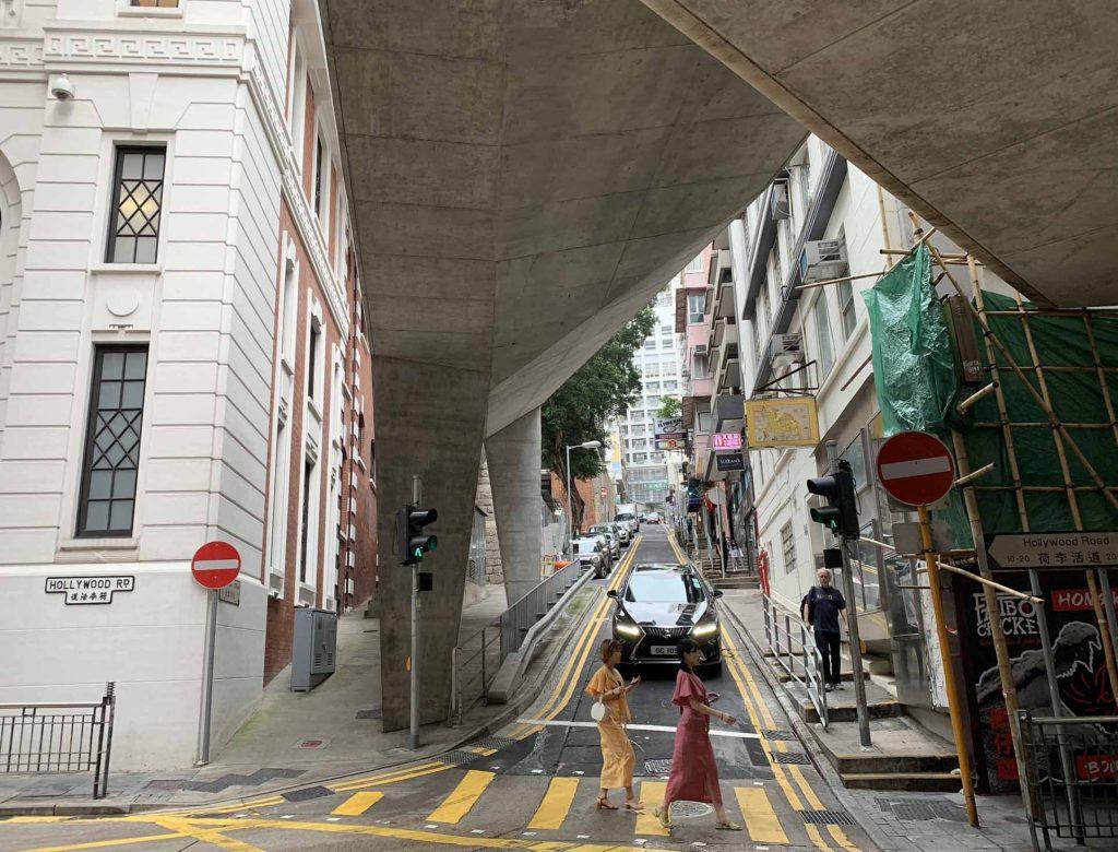 Hollywood Road in Hong Kong