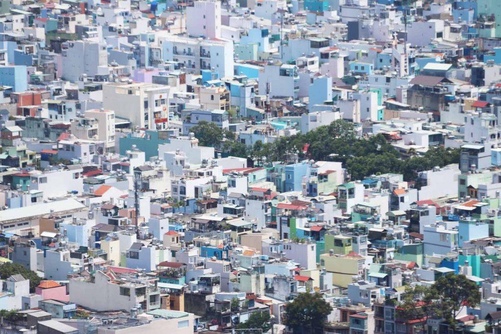Näkymä Saigon Skydeckiltä