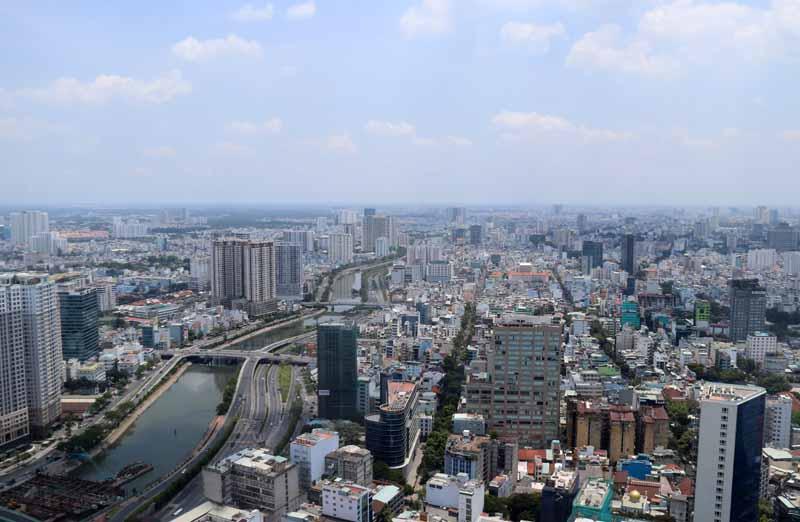 Saigon Skydeck Ho Chi Minh City Vietnam