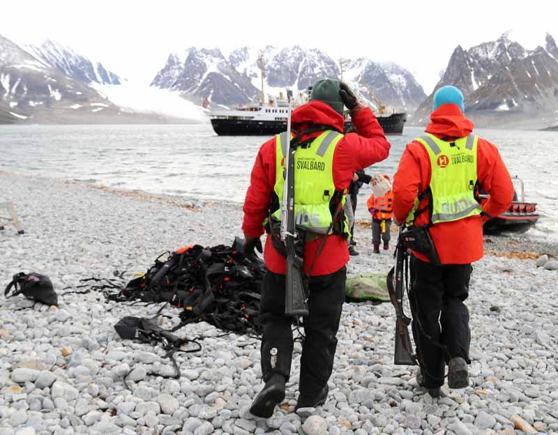 Huippuvuoret Svalbard Hurtigruten