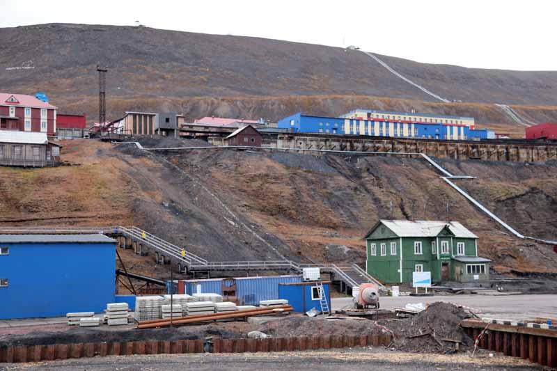 Aika tuntuu pysähtyneen Huippuvuorten Barentsburgissa 1