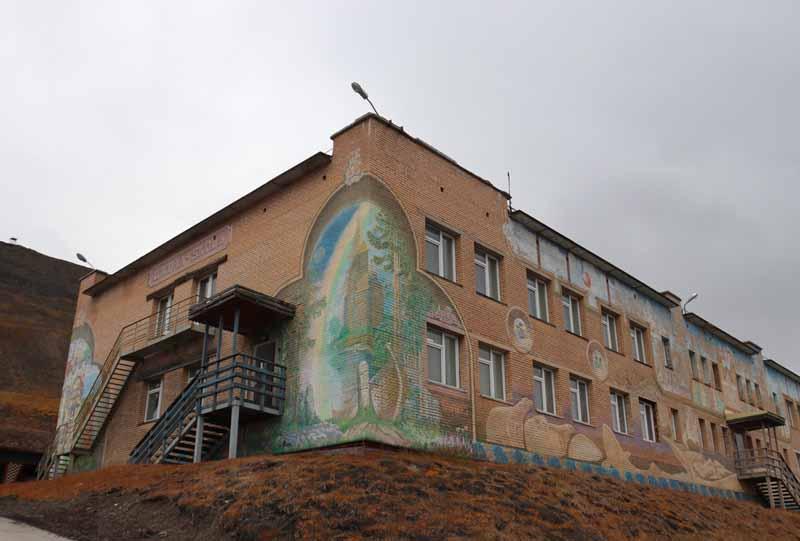 Barentsburg koulu