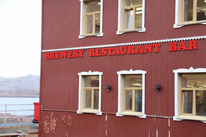 Barentsburg ravintola