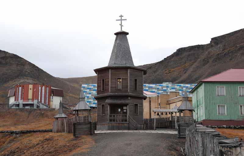 Barentsburg kappeli