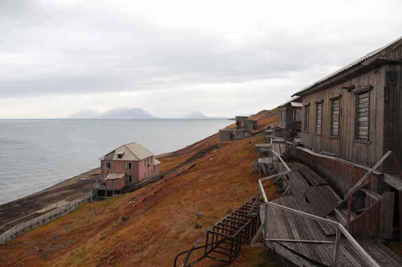 Barentsburg taloja