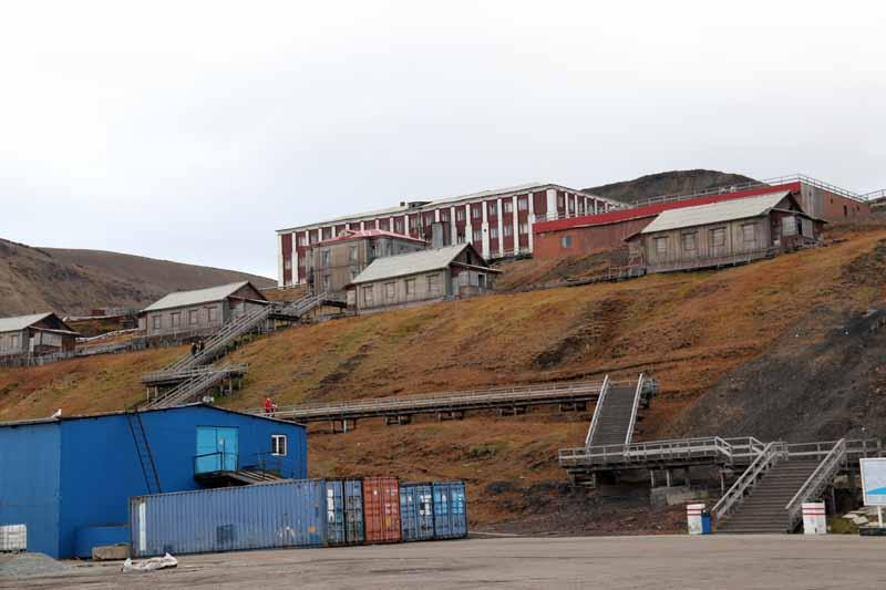 Barentsburg satama