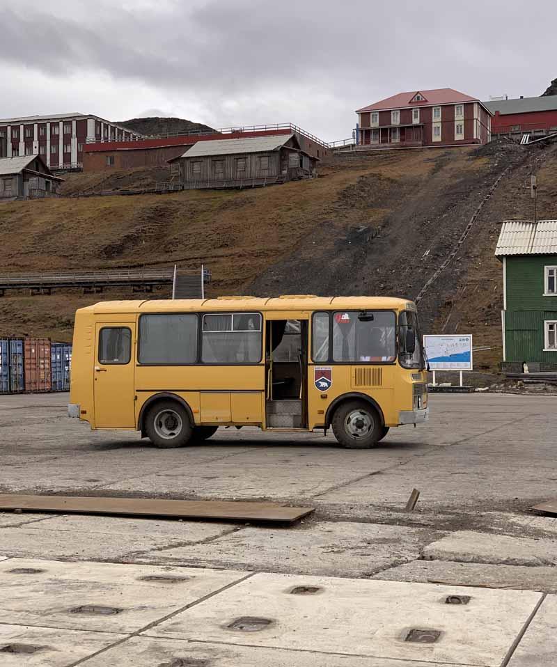 Barentsburg bussi