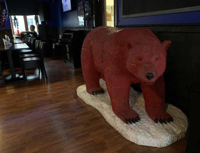 Barentsburg jääkarhu