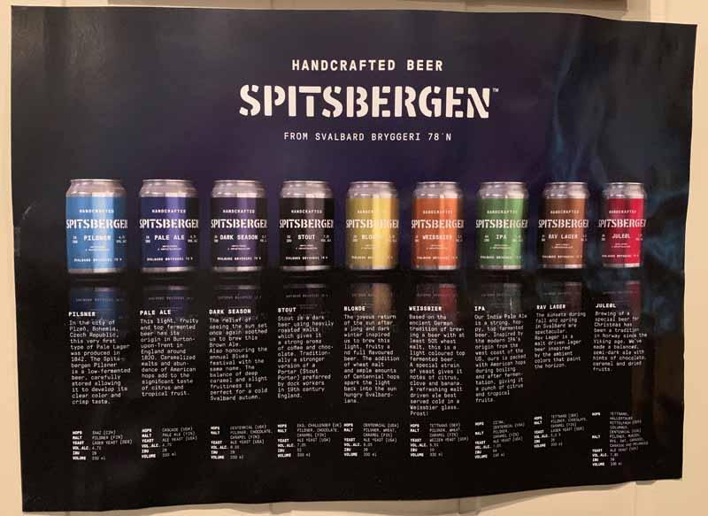 Svalbard Bryggeri Spitsbergen handcrafted beer