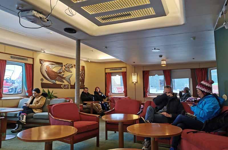 Hurtigrutenin M/S Nordstjernen laivaesittely 23