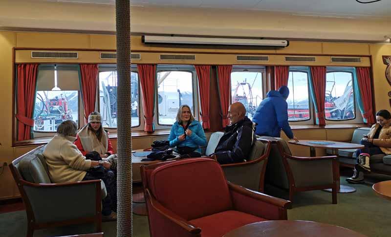 Hurtigrutenin M/S Nordstjernen laivaesittely 22