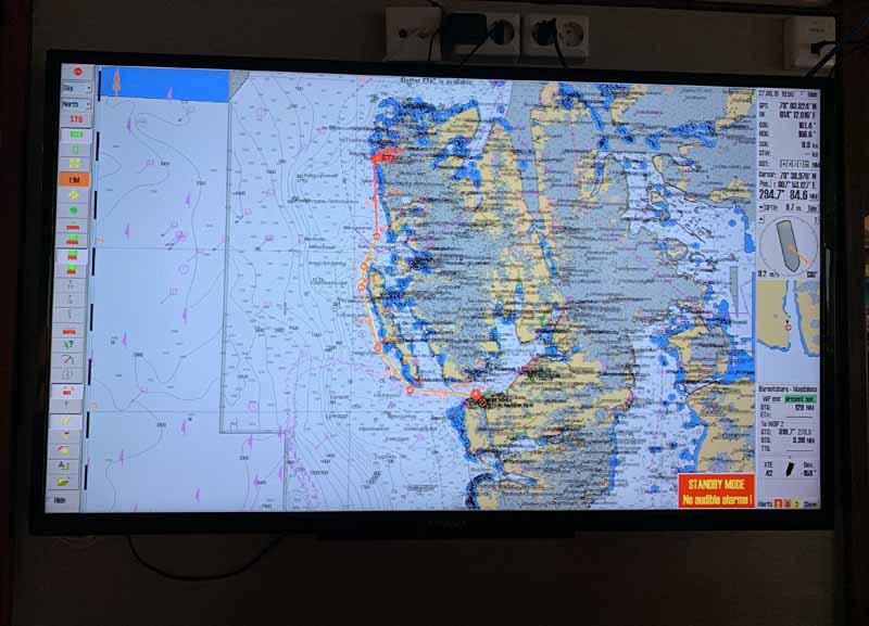 Hurtigrutenin M/S Nordstjernen laivaesittely 26