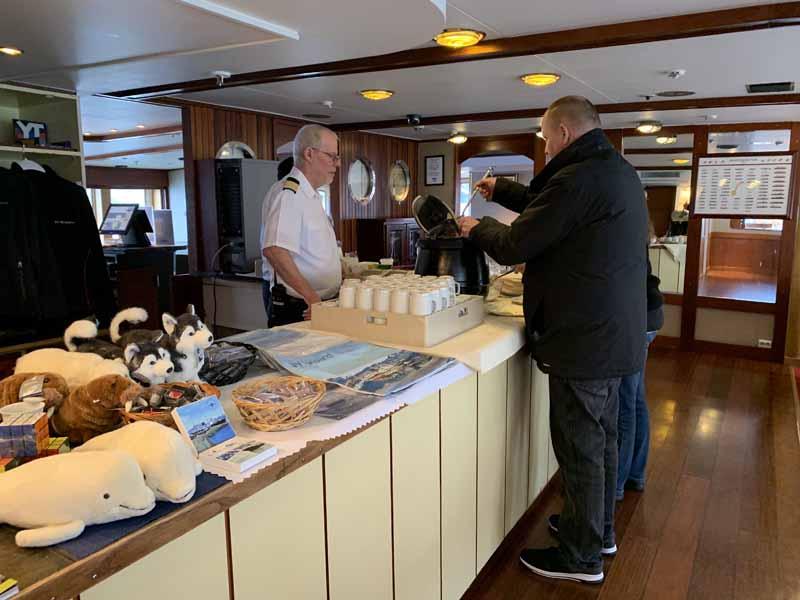Hurtigrutenin M/S Nordstjernen laivaesittely 27