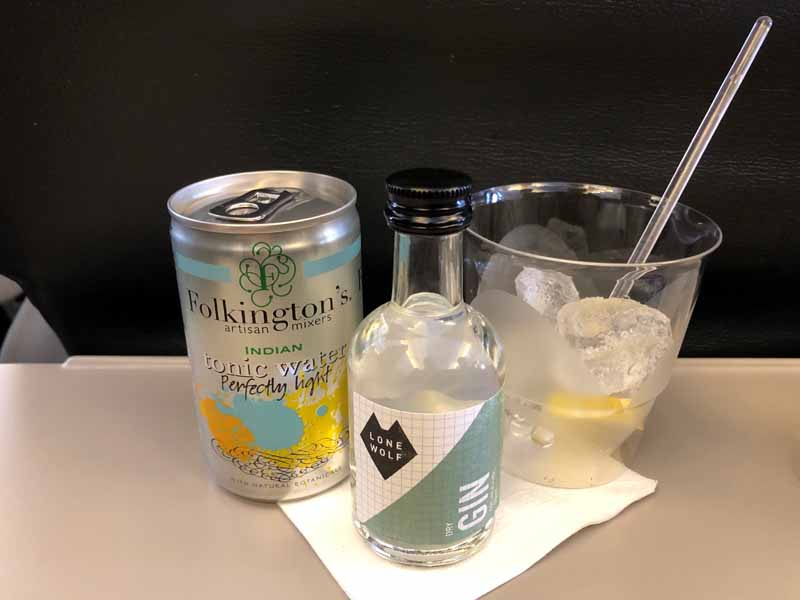 Lone Wolf gin Brewdog Folkington's tonic water GT