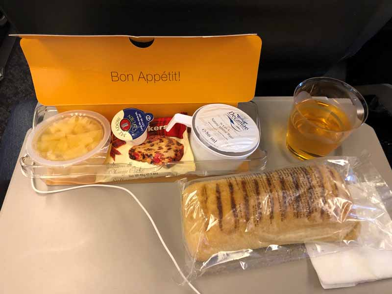 Brewdog Airlines snack