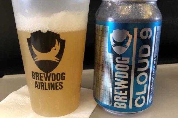Brewdog Cloud 9 lasissa