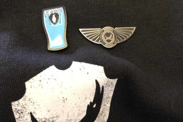 Brewdog Airlines Antarctica pinssit pins