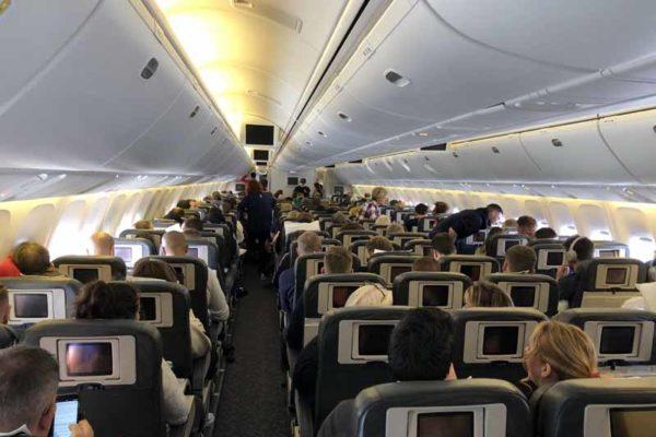 Brewdog Airlines matkustamo cabin
