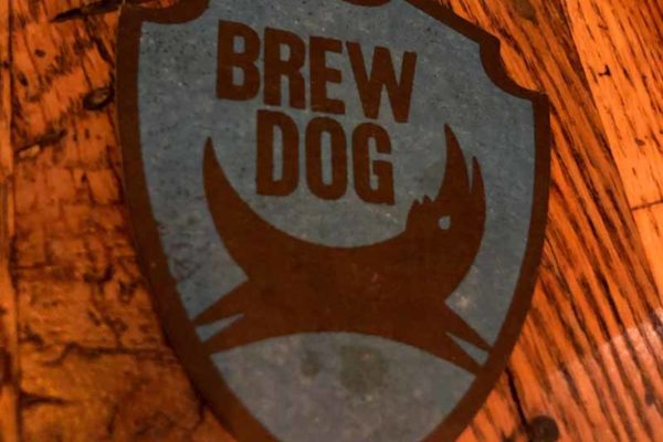 Brewdog coaster lasinalunen