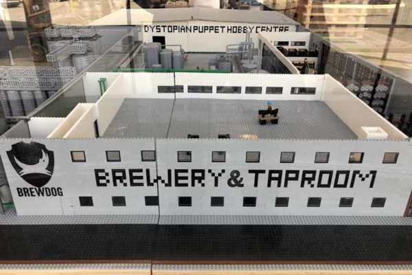 Brewdog brewery lego model