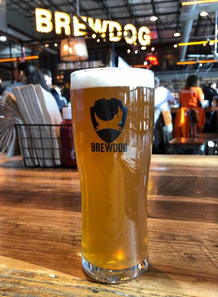 Brewdog Punk IPA cask draft