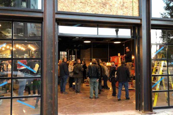 Brewdog Cincinnati week before opening