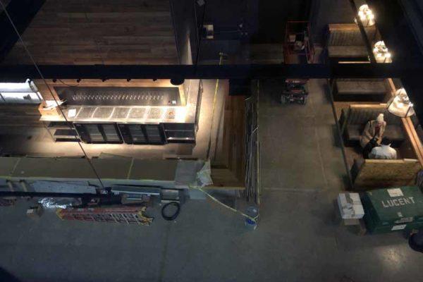 Brewdog Cincinnati under construction